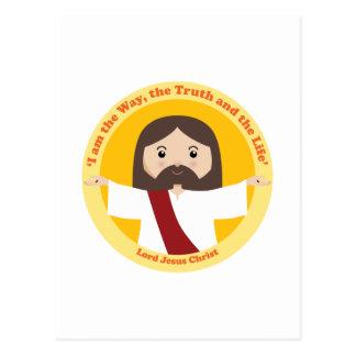 Lord Jesus Christus Postkarte