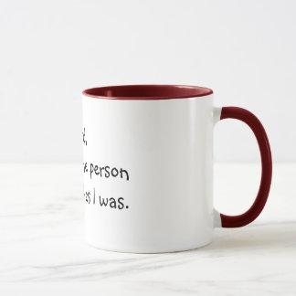 Lord, machen mich die Person meine ex Wünsche, die Tasse