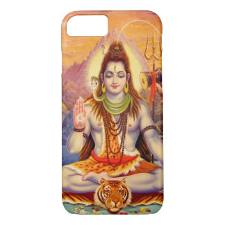 Lord Shiva Meditating iPhone Fall iPhone 8/7 Hülle