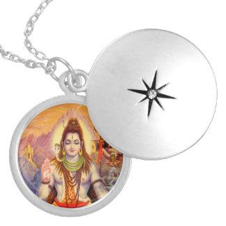 Lord Shiva Meditating Locket Medaillon