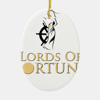 Lords Of Fortune Expeditionware Ovales Keramik Ornament