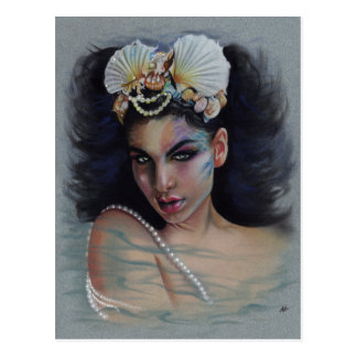 Loreley Meerjungfrau-Postkarte Postkarte