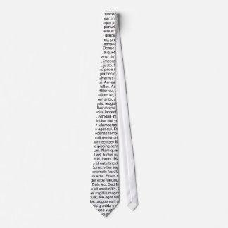 lorem ipsum Blindtext dummy text Krawatte