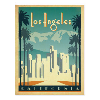 Los Angeles, CA 2 Postkarten