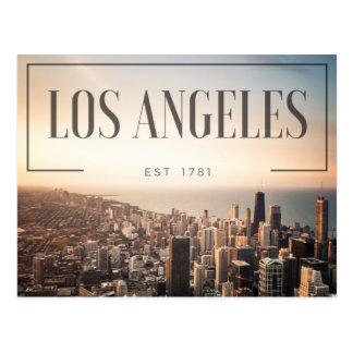 Los Angeles - Est 1781 Postkarten
