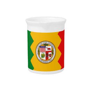 Los Angeles-Flaggen-Krug Krug