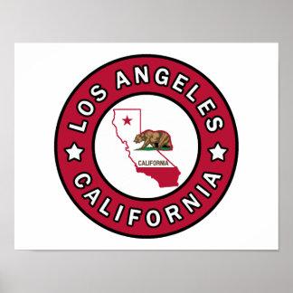 Los Angeles Kalifornien Poster