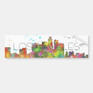 LOS ANGELES, KALIFORNIEN-SKYLINE AUTOAUFKLEBER