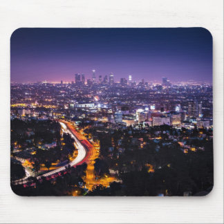 Los Angeles, Kalifornien-Skyline nachts Mousepad
