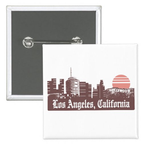 Los Angeles Linesky Buttons