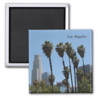 Los Angeles-Magnet! Quadratischer Magnet
