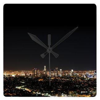 Los Angeles-Nacht Uhr