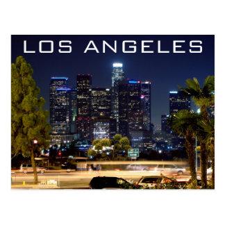Los Angeles-Nachtpapier-Produkte Postkarten
