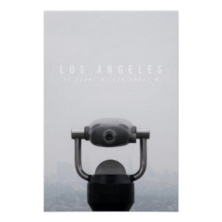 Los Angeles-Plakat - Griffith-Observatorium Poster