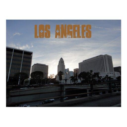 Los Angeles-Postkarte