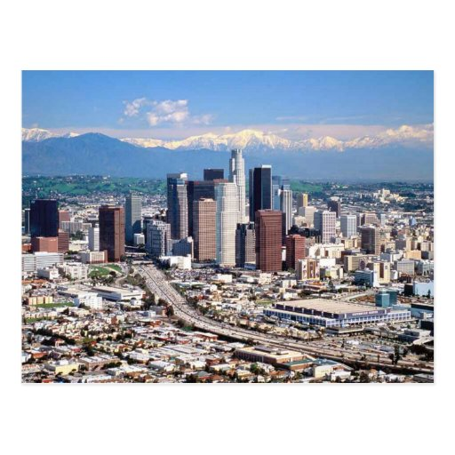 Los Angeles Postkarte