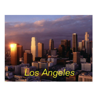 Los Angeles-Postkarte Postkarte