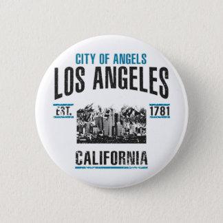 Los Angeles Runder Button 5,7 Cm