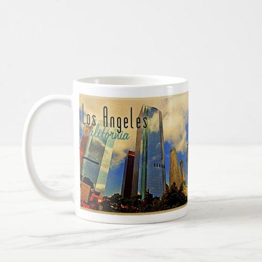 Los Angeles-Skyline Teetassen