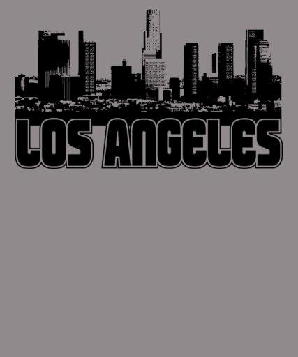 Los Angeles-Skyline Tshirts