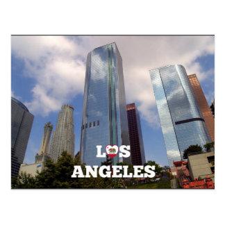 Los Angeles-Stadtbild Postkarte