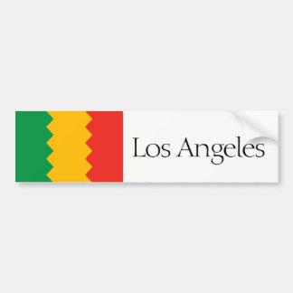 Los Angeles vereinfachte Autoaufkleber