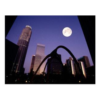 Los Angeles-Wolkenkratzer Postkarten