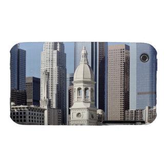 Los- Angeleswolkenkratzer-Gebäude am Mittag Case-Mate iPhone 3 Hüllen