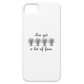 Los Fans Etui Fürs iPhone 5