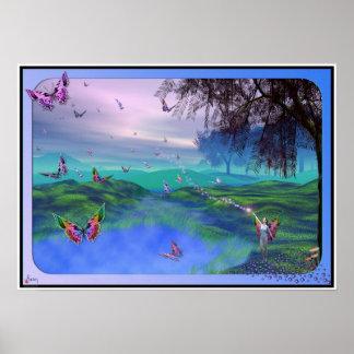 Los Niños de la Hada Mariposa - Version 2,0 Plakatdrucke