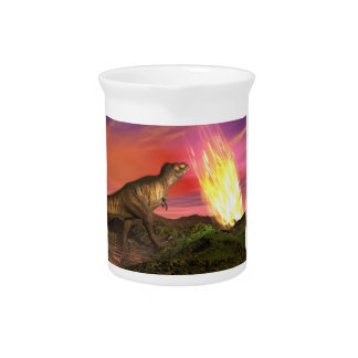 Löschung der Dinosaurier - 3D übertragen Getränke Pitcher
