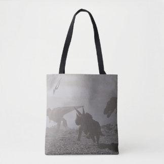 Löschung der Dinosaurier - 3D übertragen Tasche