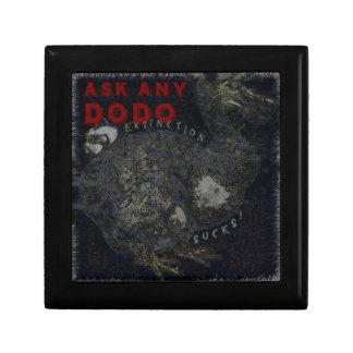 Löschungist zum Kotzen Dodo-Vogel-Entwurf Geschenkbox