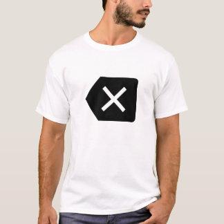 Löschungs-Piktogramm-T - Shirt