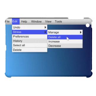 Löschungsdruck iPad Mini Hülle