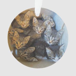 Lose Kätzchen Ornament