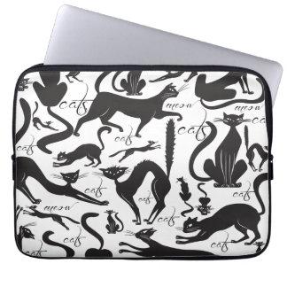 Lose Katzen Laptop Schutzhülle