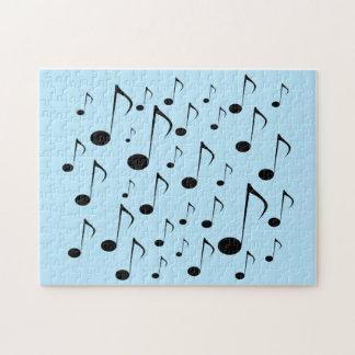Lose musikalische Anmerkungen Puzzle