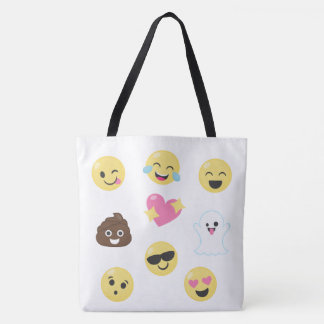 Lose von Emojis Tasche
