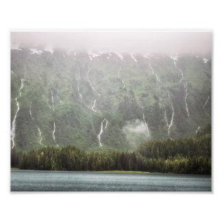 Lose Wasserfälle - Foto-Druck Alaskas | Fotodruck