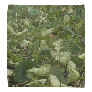 Lotos-Blätter Kopftuch