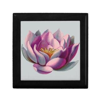 Lotos-Blume Erinnerungskiste