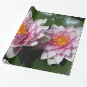 Lotos Blume Geschenkpapiere Zazzle De
