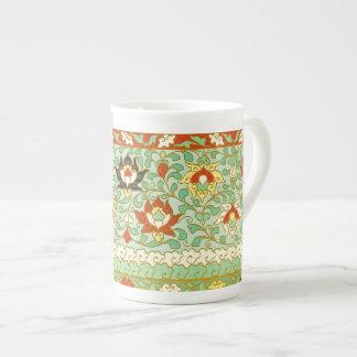 Lotos-Blumen-Chinese-Entwurf Porzellantasse