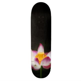 Lotos-Blumen-Fotografie-großes Yoga-OM-Geschenk! Skateboarddeck
