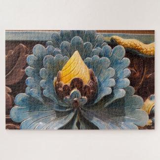 Lotos-Blumen-Puzzle Puzzle