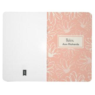 Lotos-Blumen-Rosa-personalisierte Zeitschrift Taschennotizbuch