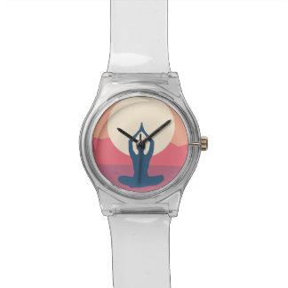 Lotos-Liebe Armbanduhr