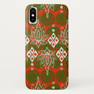 Lotosdiamant festlich iPhone x hülle