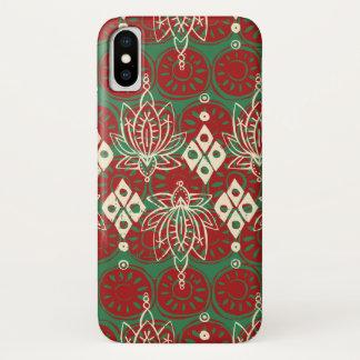 Lotosdiamant Weihnachten iPhone X Hülle